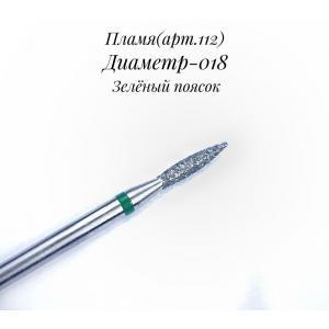 НАСАДКА С АЛМАЗНЫМ НАПЫЛЕНИЕМ 112(ЗЕЛЕНАЯ)