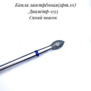 НАСАДКА С АЛМАЗНЫМ НАПЫЛЕНИЕМ 111(СИНЯЯ)