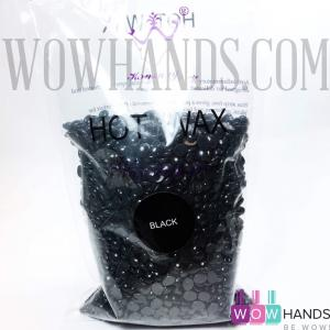 Воск в гранулах, Hot Wax, Black, 500 гр