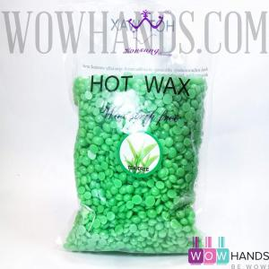 Воск в гранулах, Hot Wax, tea tree, 500 гр