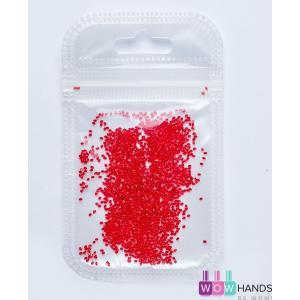 CRYSTAL PIXIE Red - ПИКСИ для ногтей (хрустальная крошка), 1440 шт