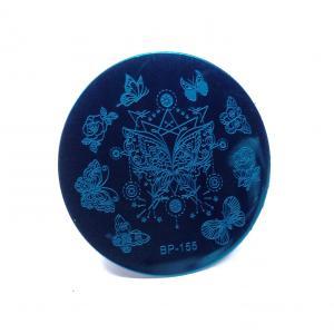 Пластина для стемпинга, круглая bp-155