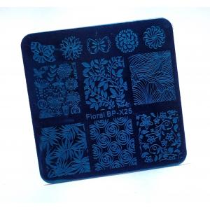 Пластина для стемпинга, квадратная bp-x25