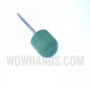 Насадка силиконовая для полировки и шлифовки, зеленая, 15*17