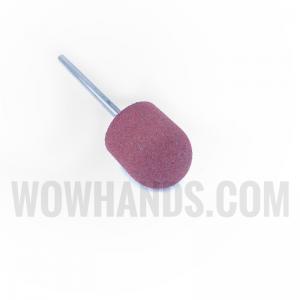 Насадка силиконовая для полировки и шлифовки, коричневая, 15*17