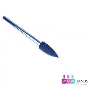 Насадка силиконовая для полировки и шлифовки, серая, 4*12