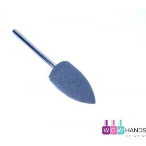 Насадка силиконовая для полировки и шлифовки, серая, 10*20