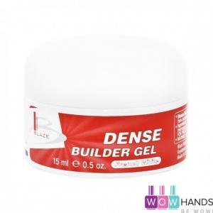 УФ гель конструирующий густой, BLAZE Dense Builder Gel French White, 15 мл