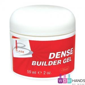 УФ гель конструирующий густой, BLAZE Dense Builder Gel Clear, 59 мл