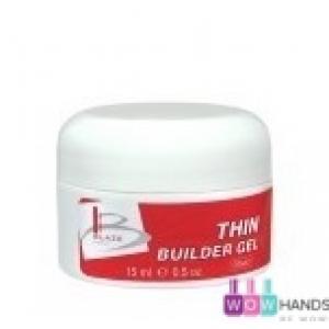УФ гель конструирующий жидкий, BLAZE Thin Builder Gel Clear, 15 мл