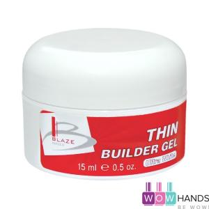 Конструирующий уф гель жидкий, Ultra White, BLAZE Thin Builder Gel 15 мл