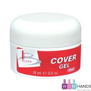 УФ гель камуфлирующий, BLAZE Cover Gel Pink, 15 мл