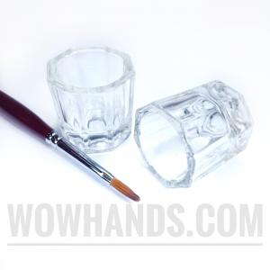 Стеклянный стаканчик для мономера, краски, разведения хны.