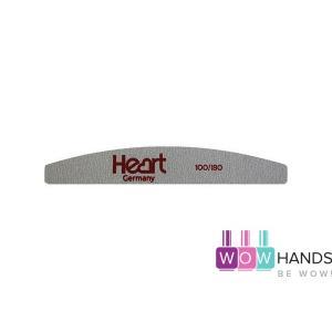 Пилка для ногтей Heart Half 100/180