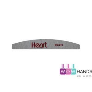 Пилка для ногтей Heart Half 180/240