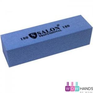 Бафик Salon Professional 180 грит - синий, брусок