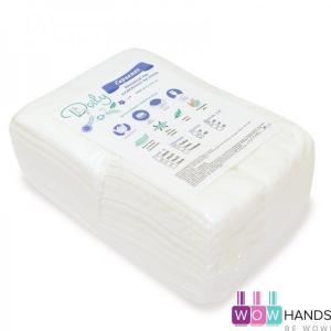Салфетки в пачці Doily 20х30 см (100шт/пач) спанлейс 40 г/м2