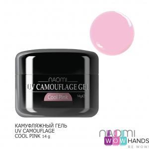 Камуфляжный гель naomi uv camouflage cool pink