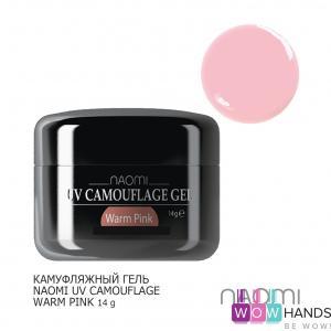 Камуфляжный гель naomi uv camouflage warm pink