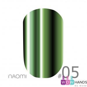 Зеркальная пудра naomi mirror powder 05