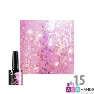 Гель-лак g.lacolor illumi rose №15