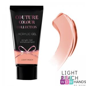 Акрил-гель acrylic gel light peach couture colour
