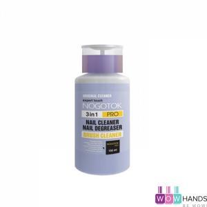 Жидкость для снятия липкого слоя и обезжиривания Nogotok 3 в 1 Pro 150 мл